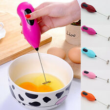 New Milk Frother Drink Foamer Egg Beater Coffee Stirrer Electric Whisk Mixer