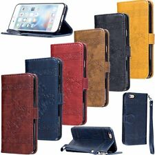 Luxury PU Leather Flip Wallet Cards Stand Cover Case For Apple iPhone 6/6S Plus