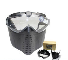 Tactical Paintball Airsoft Goggles Full Face Mask CS Anti-Fog Ventilated Masks