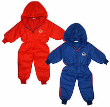Boys Snowsuit Tiger Baby Cub Coat Hooded Ski Padded Pramsuit 6 to 18 Months