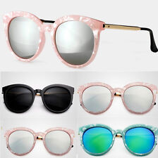 New Womens Retro Vintage Shades Round Frame Oversized Sunglasses Eyewear CHI