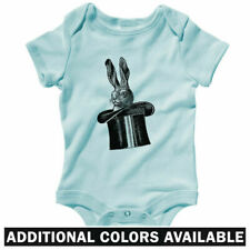 Rabbit In A Hat One Piece - Baby Infant Creeper Romper NB-24M - Gift Magic Trick