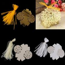 50pcs Wedding Cake Candy Favour Favors Gift Boxes Butterfly Candy Favor Boxes