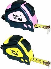 Mum / Dad Tape Measure For Mothers / Fathers Day or Christmas stocking Gift NEW