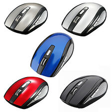 2.4G USB Receiver Wireless Optical Mouse Mice For PC Laptop HP Dell Toshiba LW
