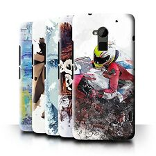 STUFF4 Back Case/Cover/Skin for HTC One Max/Fragments