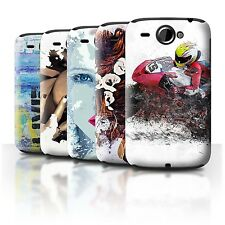 STUFF4 Back Case/Cover/Skin for HTC Wildfire/G8/Fragments