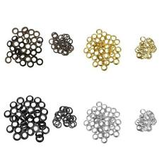 "50 Sets Metal PRESS STUDS SNAP POPPER Fasteners Open Ring 3/8"" Sewing Buttons"