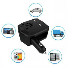 New Worldwide Travel Adapter Power Converter Dual USB Wall Charger Car Charger