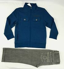 Calvin Klein Boys' set, Two-Piece Set with Front Jacket and Pants sizes 3,5,6