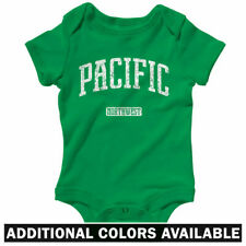 Pacific Northwest One Piece - Baby Infant Creeper Romper NB-24M - Gift Cascadia