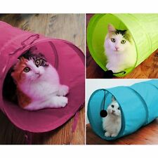 Foldable Cat Tunnel Activity Playing Fun Kitten Funny Toy Pet Sleep Tent Hot