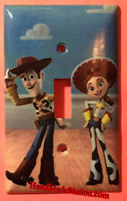 Toy Story Woody & Jessie Light Switch Duplex Outlet Cover Plate Home decor