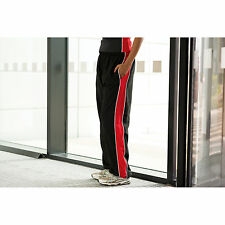 Finden And Hales Ladies Contrast Track Pants Tracksuit Elasticated Waist Pant