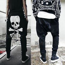 Baggy Boy Mens Trousers Sweatpants Harem Pants Slacks Casual Jogger Sportwear d9