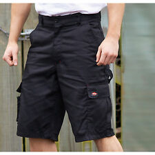 Lee Cooper New Mens Cargo Shorts Casual Work Pants Cargo-pockets Rear Waistband