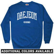 Daejeon Korea Men's Sweatshirt - Crewneck S-3X - Gift South Korean Citizen FC KR