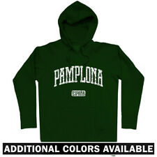 Pamplona Spain Hoodie - Hoody Men S-3XL Gift España Navarre Running of The Bulls