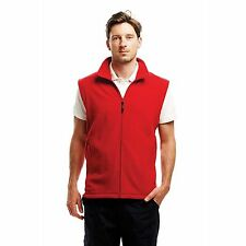 Regatta Micro Fleece Bodywarmer Mens Sleeveless Open Hem Full Zip Gilet Coat