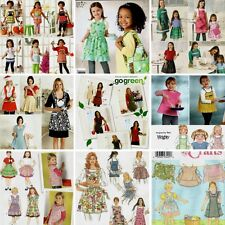 Simplicity Aprons Sewing Pattern Misses/Child's/Girls Sizes Your Choice New OOP