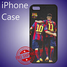 MESSI NEYMAR Football Soccer Case Cover iPhone 8 8+ 7+ 7 6s+ 6+ SE 5c 5s #ED