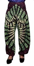 Yoga Trouser Baggy Genie Boho Hippie Casual Indian Rayon Harem Pants