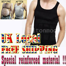 MENs Vest Compression shapewear Shaper Slimming Body Slim Belly Buster Underwear