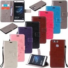 New Leather Wallet Card Cash Slots Flip Cover Stand Case For Huawei Ascend P9