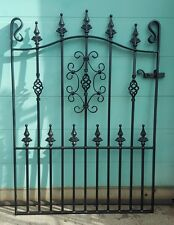 """Wrought Iron Metal Garden Gate-TOP QUALITY - 3ft 6"""" (1067mm) Frame height"""