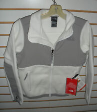 THE NORTH FACE GIRLS DENALI  FLEECE JACKET-STYLE AQGG- S, L- WHITE/ M SILVER