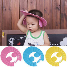 New Adjustable Wash Hair Shield Baby Kids Shampoo Bath Bathing Shower Cap Hat