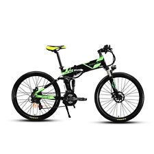 21 Speed Electric Bike Fashionable New Full Suspension Folding Mountain Bicycle