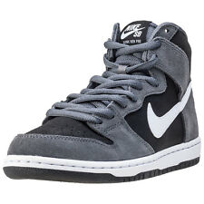 Nike Skateboarding Zoom Dunk High Pro Mens Trainers Grey Black New Shoes