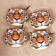 Kids Wallet Tiger Leopard Cute Coin Purse Zipper Bag Lion Face