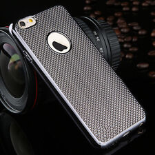 Luxury Stylish Electroplated Dotted Case Cover Grey For iPhone 6 6s {[jv147