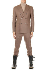 MARTIN MARGIELA MM14 Men Brown Virgin Wool Suit Made in Italy New with Tag