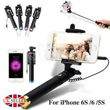 Mini Monopod Telescopic Selfie stick WIRED+FOLDABLE Camera Holder For iPhone