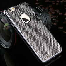Luxury Stylish Electroplated Dotted Case Cover Grey For iPhone 6 6s {[kj129