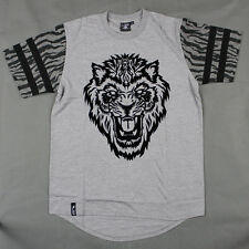 Lifted Research Group - LRG -  The Dust to Dust Baseball T-shirt in Ash Heather