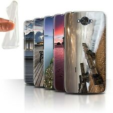 STUFF4 Gel/TPU Phone Case for Motorola Moto Maxx /English Seaside