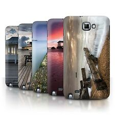 STUFF4 Phone Case/Back Cover for Samsung Galaxy Note/N7000 /English Seaside