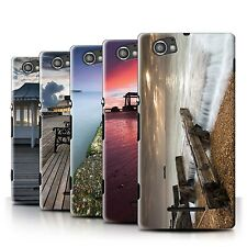 STUFF4 Phone Case/Back Cover for Sony Xperia M/C1905 /English Seaside