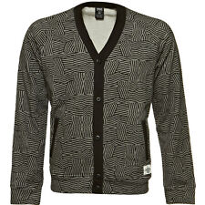 Crooks & Castles The Razzle Dazzle Cardigan in Charcoal Speckle Sz S ~ Last 1