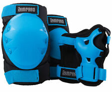 Roller Skate Skating Scooter Cycling KNEE ELBOW PALM Protective Gear Pad  Blue