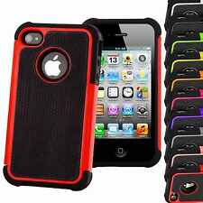 Hard Shock Proof Tough Case Cover Hybrid Heavy Duty For Apple iPhone All Models