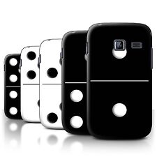 STUFF4 Back Case/Cover/Skin for Samsung Galaxy Y Duos/S6102/Dominoes/Dominos