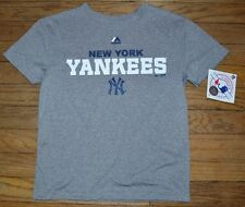 Youth Performance Tee New York Yankees T-Shirt Genuine Major League Majestic