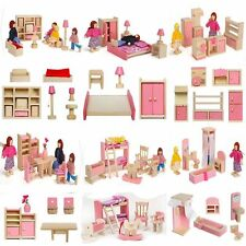 6 Room Type Learn Toys For Kids Children Educational Dollhouse Furniture Toy