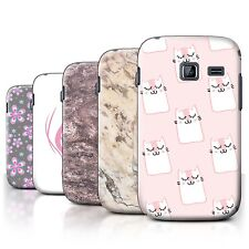 STUFF4 Back Case/Cover/Skin for Samsung Galaxy Y Duos/S6102/Pink Fashion