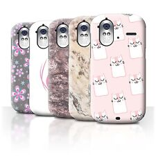 STUFF4 Back Case/Cover/Skin for HTC Amaze 4G/Pink Fashion